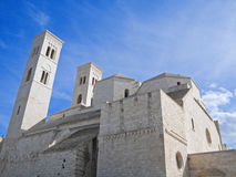 The Dome Cathedral. Molfetta. Apulia. Royalty Free Stock Photography