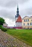 Dome cathedral-the oldest church of Tallinn. Royalty Free Stock Images
