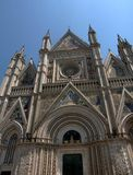 Dome cathedral Orvieto in Umbria, Italy Stock Photos