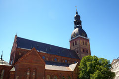 The Dome Cathedral. Riga Royalty Free Stock Photography