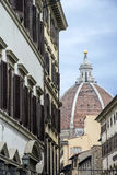 The dome of the Cathedral of Saint Mary of the Flower in Florence, Italy Stock Photos