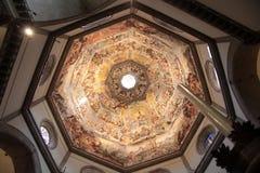 Dome of the cathedral Santa Maria del Fiore Stock Photo