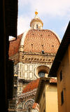 Dome of Cathedral of Santa Maria del Fiore (Duomo). Florence Royalty Free Stock Photography