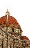 Dome of Cathedral of Santa Maria del Fiore (Duomo). Florence Royalty Free Stock Photo