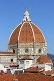 Dome of cathedral Santa Maria del Fiore (Duomo), Florence Stock Photos