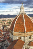 Dome of Cathedral Santa Maria del Fiore Stock Image