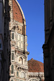Dome of the Cathedral of Santa Maria del Fiore, Florence, Italy. Royalty Free Stock Image
