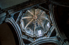 Dome of cathedral Santiago de Compostela Royalty Free Stock Photography