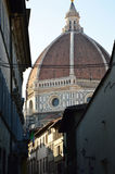 Dome of the Cattedrale di Santa Maria del Fiore Cathedral of Saint Mary of the Flower Florence, Italy Stock Photo