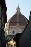 Dome of the Cattedrale di Santa Maria del Fiore Cathedral of Saint Mary of the Flower Florence, Italy Stock Image