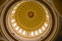 Dome Ceiling. In Madison Wisconsin royalty free stock photos