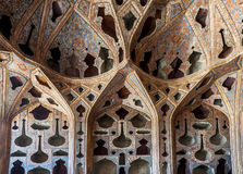 Dome of Chehel Sotun Palace stock photos