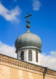 The dome of the Christian Orthodox churches Royalty Free Stock Photography