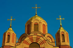 Dome of the church Stock Photos