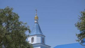 The dome of the Church stock video