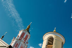Dome of the church against the sky Royalty Free Stock Photography