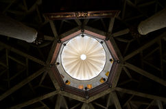 Dome of the Church of the Annunciation. Nazareth, Israel stock photo