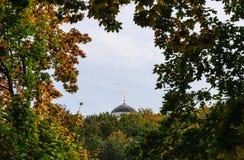 Dome of the Church of the Beheading of John the Baptist.  Kolomenskoye. Moscow Stock Photography