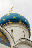 Dome church closeup Royalty Free Stock Images