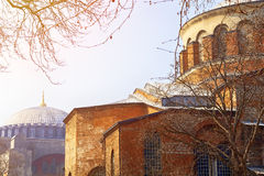 Dome of the church of Hagia Irene Royalty Free Stock Images