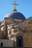 Dome on the Church of the Holy Sepulchre Royalty Free Stock Image