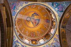 The dome of Church Holy Sepulchre in Jerusalem Israel Stock Photography