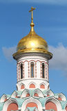 Dome of the church of the Kazan Kremlin in Moscow Royalty Free Stock Photography