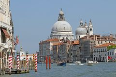 Dome of the Church of the madonna della salute near of San Marco Royalty Free Stock Photography