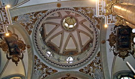 Dome of the Church of monte berico in  Italy Stock Images