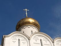 Dome of church of Nicholas The Wonderworker of the Tver Old Belief community. Moscow.  stock images