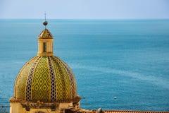 Free Dome. Church Of Santa Maria Assunta. Positano. Campania. Italy Stock Photography - 166485562