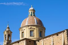 The dome of the Church of San Ferdiano al Cestello is a sunny day. Florence, Italy Royalty Free Stock Images