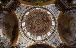 Dome in a Church Royalty Free Stock Photo