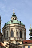 Dome of church of St. Nicholas Stock Photography