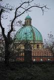 Dome of church of St. Pellegrino and Teresa. Stock Photo