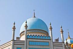 Dome churches. The blue dome of a church in Korea Stock Photos