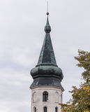The dome of City Hall in Vyborg Royalty Free Stock Photography