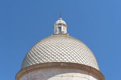 Dome. Of classic Architecture in Pisa, Tuscany, Italy royalty free stock photos