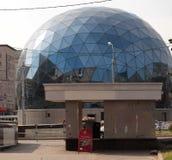 Dome  control  centre Stock Photo