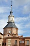 Dome of Convent of Augustinian nuns, Alcala de Henares (Madrid) Royalty Free Stock Images