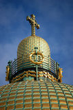 A dome with a cross Stock Images
