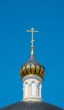 Dome with a cross Royalty Free Stock Photo