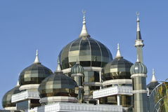 Dome of Crystal Mosque in Teregganu, Malaysia Stock Image