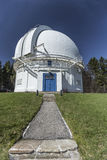 The Dome. David Dunlop Obervatory, the path to the dome Stock Image