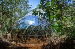 Dome of De Lama Lamina by Matthew Barney at Inhotim Public Contemporary Art Museum - Brumadinho, Minas Gerais, Brazil Royalty Free Stock Photos