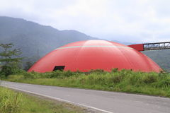 Dome depot in cement factory Stock Images