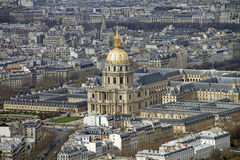 Dome des Invalides, Parijs Stock Fotografie