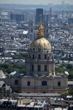 Dome des Invalides, Paris Stock Photos