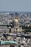 Dome des Invalides, Paris Royalty Free Stock Photography