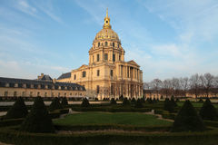 Dome des Invalides in Paris Stock Photo